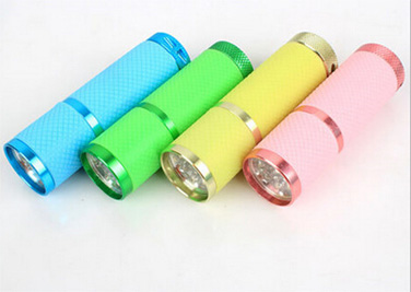 led flashlight torch with 9led