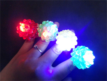 led jelly ring children gifts
